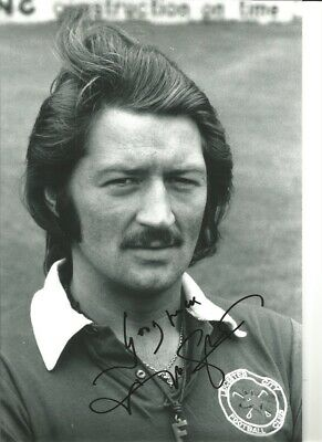 Frank Worthington Leicester City 12x8 inch signed authentic football photo SS259