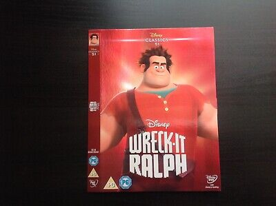"DISNEY CLASSICS No51 WRECK IT RALPH ""DVD SLIP COVER"" BRAND NEW AND UNUSED"