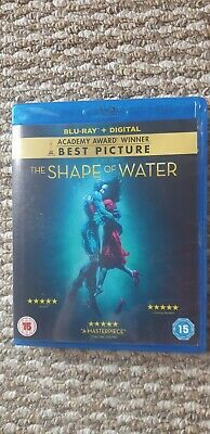 The Shape of Water Bluray DVD