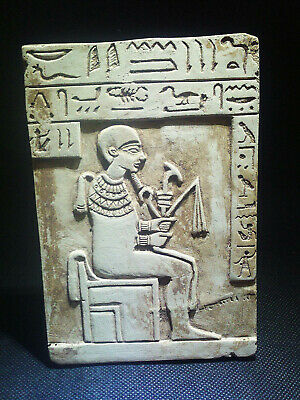 EGYPTIAN ANTIQUE ANTIQUITIES Stela Stele Stelae 1549-1337 BC