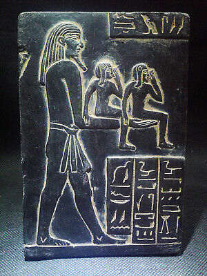EGYPTIAN ANTIQUE ANTIQUITIES Stela Stele Stelae 1549-1327 BC