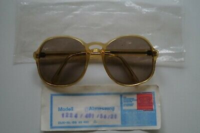 "Alte Brille ROW  ""Brillen aus RATHENOW"" DDR kult Original"