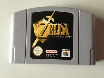 Jeu Nintendo 64 The Legend Of Zelda Ocarina Of Time