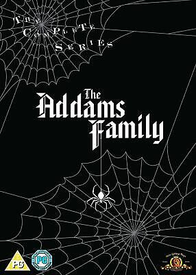 The Addams Family Complete Tv Series 1964 Dvd 64 Episodes Box Set Adams Black