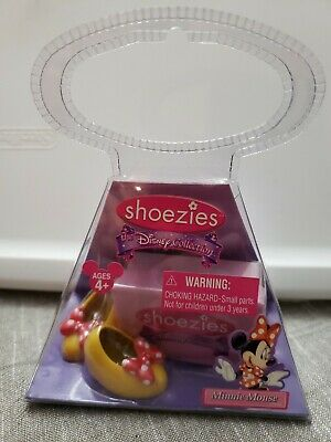 Minnie Mouse Collectible Shoezies Finger fashions with shoe box Hasbro Disney