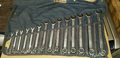 Wright Tool 714 Wrightgrip 14-Piece 12-Point Combination Wrench Set Brand New