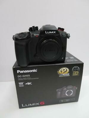 Panasonic Lumix G Dc-Gh5S Micro Four Thirds 4K Wifi Hdmi Digital Slr Camera Body