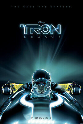 Tron Legacy Movie Poster  Large 24inx36in