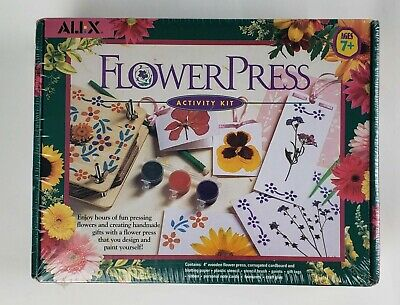 NEW Alex Flower Press Activity Kit