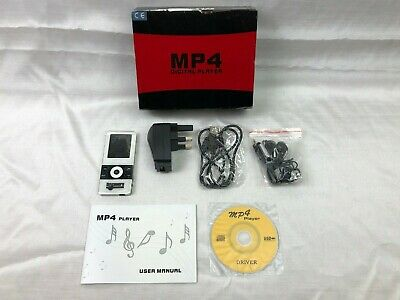 Discovery Channel - White MP4 MP3 Digital Player Voice Recorder - Rare