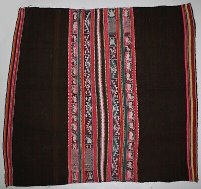 Vintage Bolivian Traditional Aguayo 1966 (item 7124)