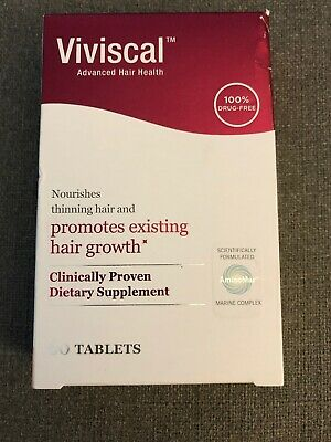 New VIVISCAL HAIR REGROWTH TABLETS 60 Count-Exp:02/2022!