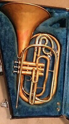 Marching Euphonium- Vintage -Used Condition with Hard Case- Yamaha
