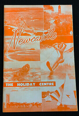 1950s NEWCASTLE NSW TOURIST 20 page BOOKLET - NEWCASTLE THE HOLIDAY CENTRE
