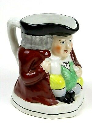 Staffordshire Ware Toby Mug Jug 5.5 inches tall