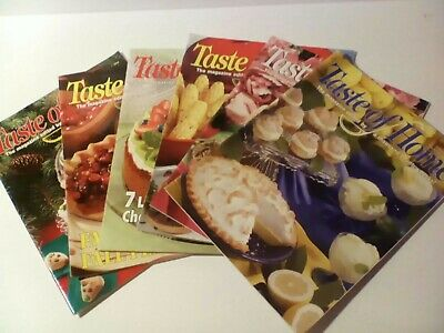 Lot Of 6 Taste Of Home Cooking Magazines Full Year 2004