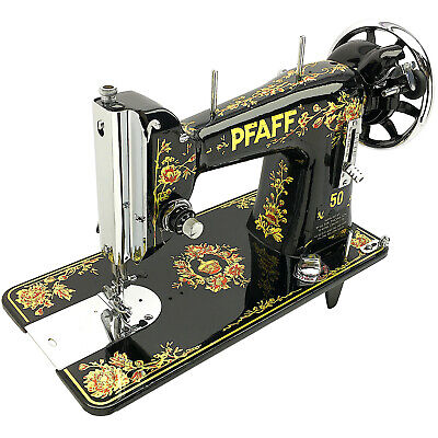 PFAFF 50 Vintage Sewing Machine Class 15 Serviced & Restored by 3FTERS