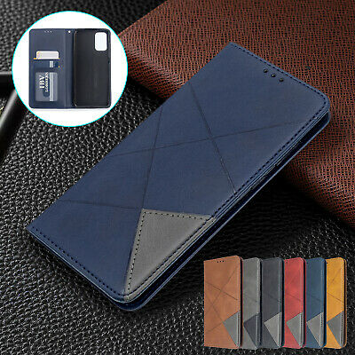 For Galaxy S20 Plus S20 Ultra Case Retro Magnetic Leather Flip Card Wallet Cover
