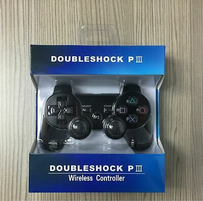 Bluetooth Dualshock3 Wireless Controller Gamepad Joystick Sony PlayStation 3 PS3