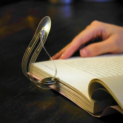 EE_ Creative Mini Portable Bookmark Lights LED Portable Books Eye Reading Light