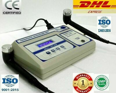 Physiotherapy Ultrasound Therapy 1 & 3 Mhz Physical Therapy 103 Two Head Device