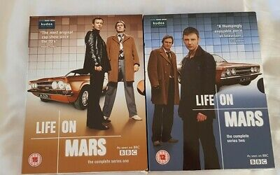 Life On  Mars Box Sets Series One & Two