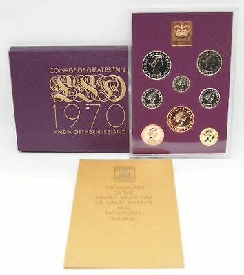 Royal Mint 1970 Proof Set, 8x Coins, Last Pre-Decimal Issue