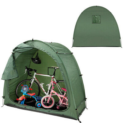 Bike Tidy Storage Tent Garden Bicycle Shed Shelter Cover With Window Cycling