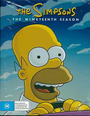 The Simpsons Complete Nineteenth Season 19 DVD NEW Region 4