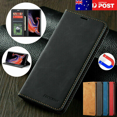 For Samsung Galaxy S20 Ultra  S10 5G S8 S9 Plus Case Leather Stand Wallet Cover