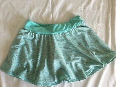 POP by Monsoon, Girls Green skirt with green shorts, Age 11-12 years, VGC