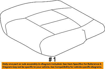 Genuine Ford Seat Cover BC3Z-2562901-BA