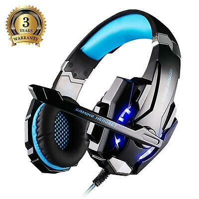 Pro Stereo Surround Live Gaming Chat Headset For PS4 Wii XBOX One Switch