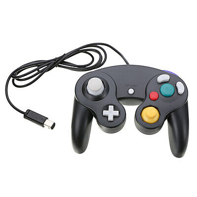 Gamepad Wired Classic Controller Joypads For Nintendo Gamcube GC NGC Wii Black