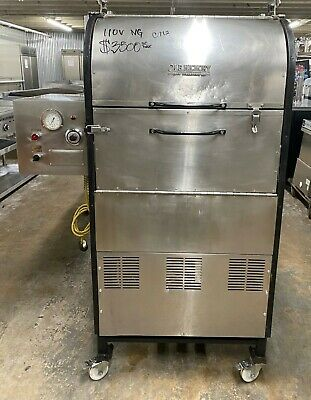 Ole Hickory Pits CTO Natural Gas Sliding Rack Barbecue Smoker