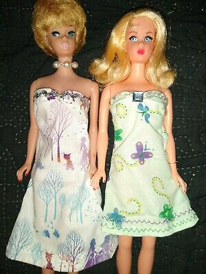 Hand made Barbie clothes OOAK new curvy Barbie, Easter, made in USA 2 piece lot