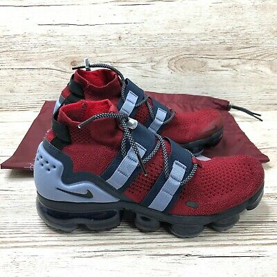 NIKE AIR VAPORMAX FLYKNIT UTILITY TEAM RED size UK 7.5 US 8.5 EUR 42 AH6834 600