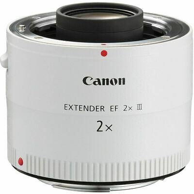 Canon Telephoto Lens Extender EF 2X III With Lens Case 4410B002 New in Box *