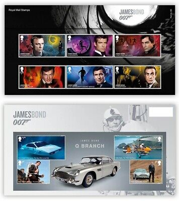 GB 2020 James Bond 007 Presentation Pack with Mini Sheet