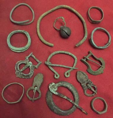 Viking authentic ancient mix sulgame brooches buckle rings bracelet