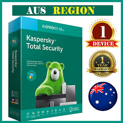 KASPERSKY TOTAL SECURITY  2020 🔥 1 Devices 🔥 1 Year AUS Region 4.99$