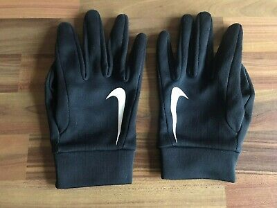 Nike Field Player HyperWarm Gloves Youth Small Good Used Condition