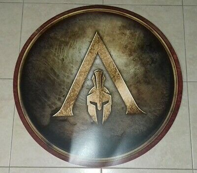 Assassin's Creed Odyssey Limited Edition Spartan Shield (ONLY 300 produced)