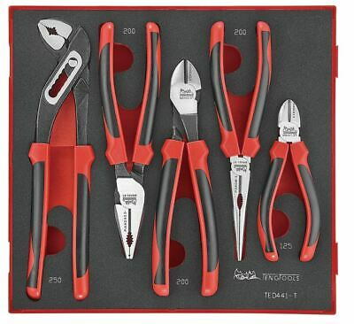 **NEW** Teng Tools TED441-T 5 Piece Plier Set