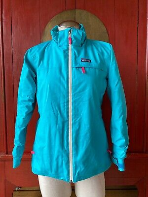 Patagonia Girls' Insulated Snowbelle Jacket Epic Blue, Mended, Size 14, XL