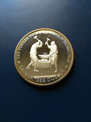 1988 Canadian Silver Dollar ($1), No Reserve!