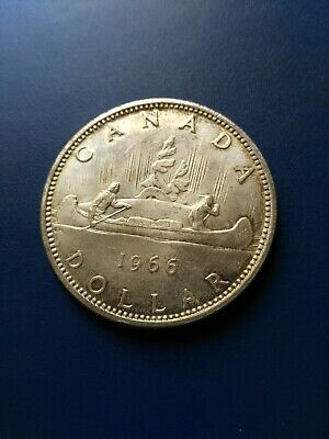 1966 Canadian Silver Dollar ($1), No Reserve!