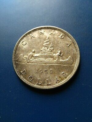 1950 Canadian Silver Dollar ($1), No Reserve!