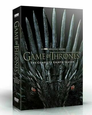 Game Of Thrones: Season 8 Eight (DVD, 2019, 4-Disc Set) New
