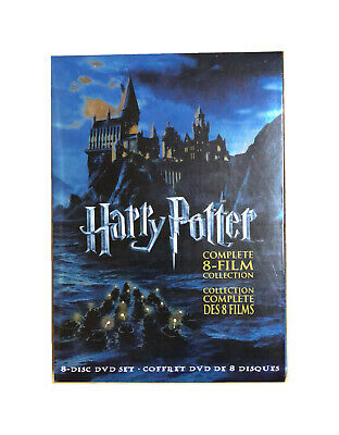 Harry Potter : Complete 8-Film Collection DVD, 2011, 8-Disc Set US